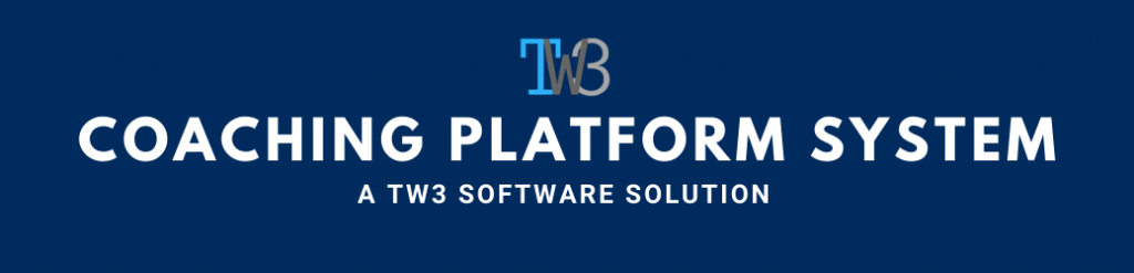 Coaching Platform System (CPS) by TW3-Marketing.com