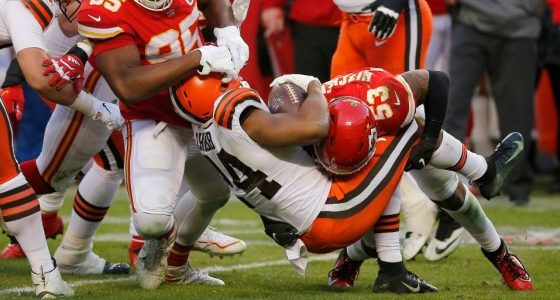 Nick Chubb plans to hold onto disappointment, using it as motivation for 2021
