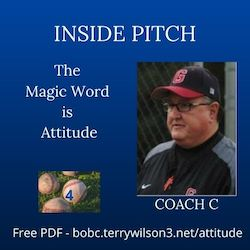 CoachCs Inside Pitch The Magic Word is Attitude
